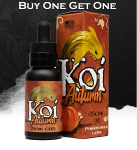 CBD E-Liquids Deals: KoiCBD Black Friday