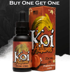 CBD E-Liquids Deals: KoiCBD Black Friday