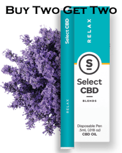 Buy two get two with SelectCBD's black Friday promotion