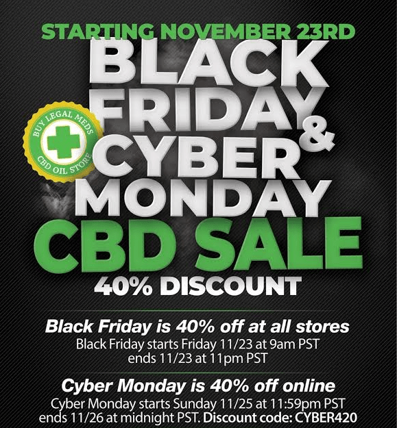 Butlegalsmeds Cyber Monday deal