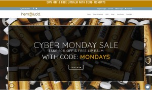hemplucid cyber monday CBD deal