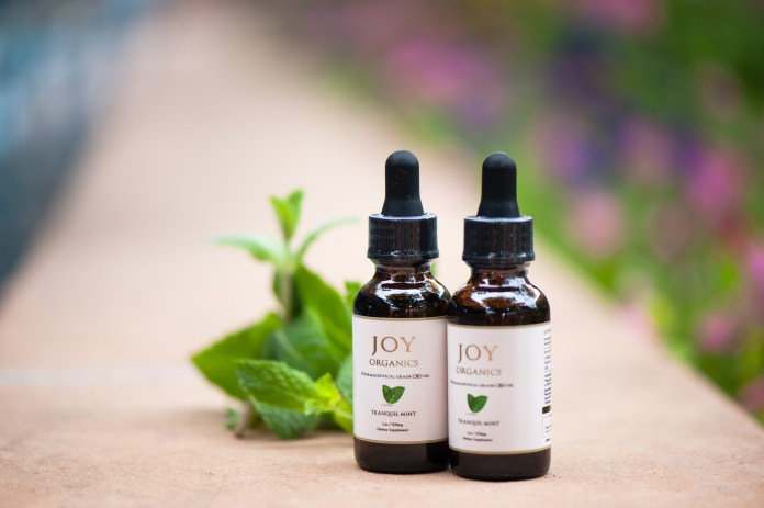 Joy Organics zero THC products