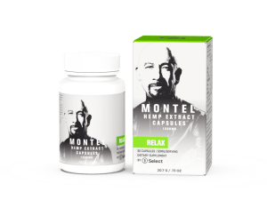 Relax softgels – Montel by Select CBD