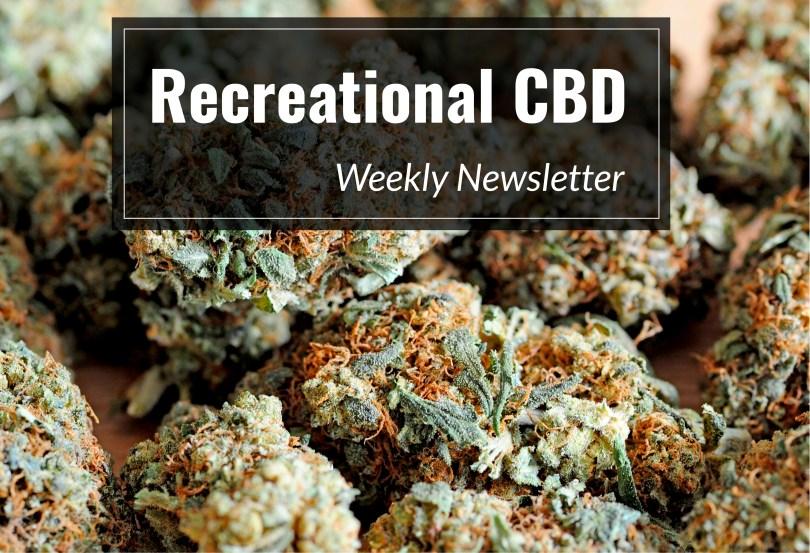 recreational CBD weekly newsletter
