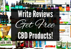 write reviews get free cbd products