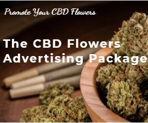 CBD Flowers Advertising