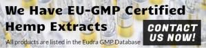 EU GMP certified hemp extracts