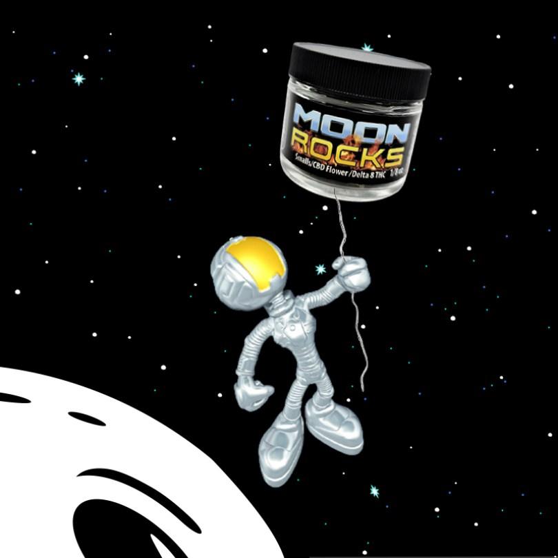 Cherry Diesel Delta 8 – Kief Dusted Moonrocks