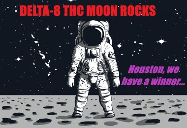 Delta-8 THC Moon Rocks Winner