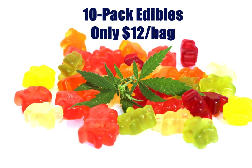 500mg Delta-8 THC Gummies - Only $12/bag
