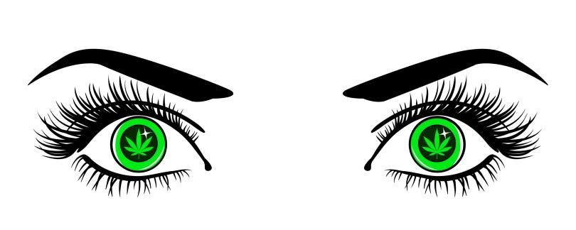 cannabis eye drops