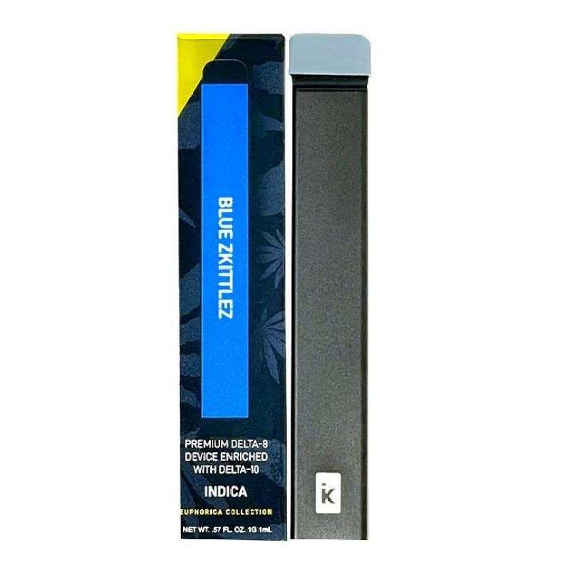25% Discount On Blue Zkittlez Indica D8 + D10 Disposable