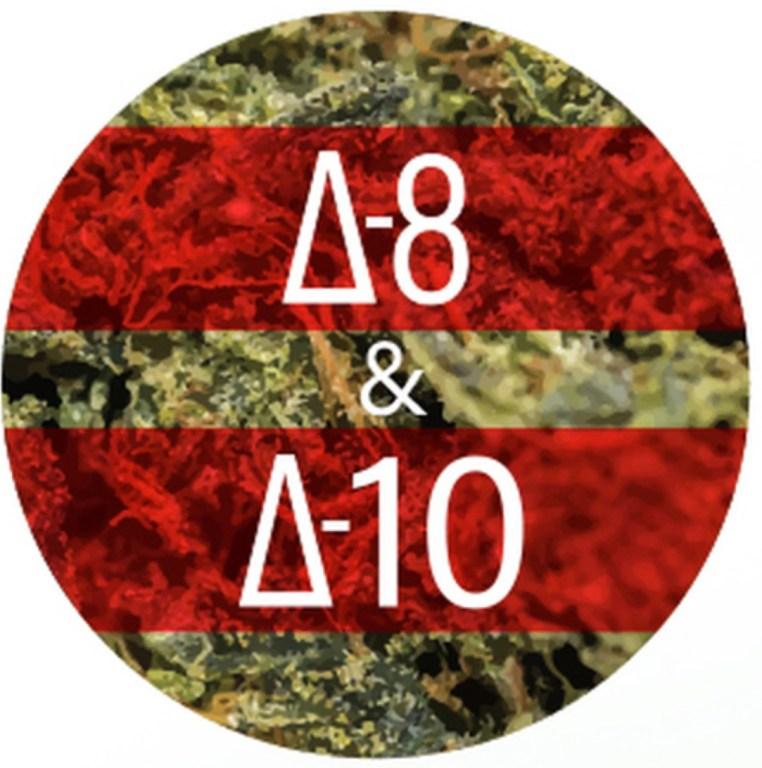 Hybrid Fruity Pebbles D8 + D10 THC Hash