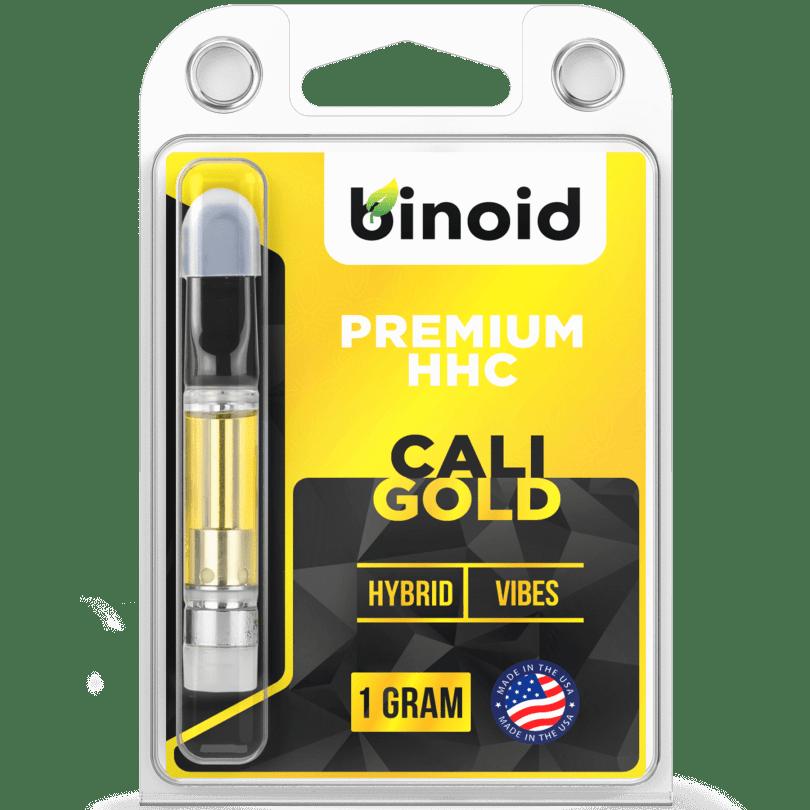 Cali Gold HHC Vape Cartridge - Hybrid