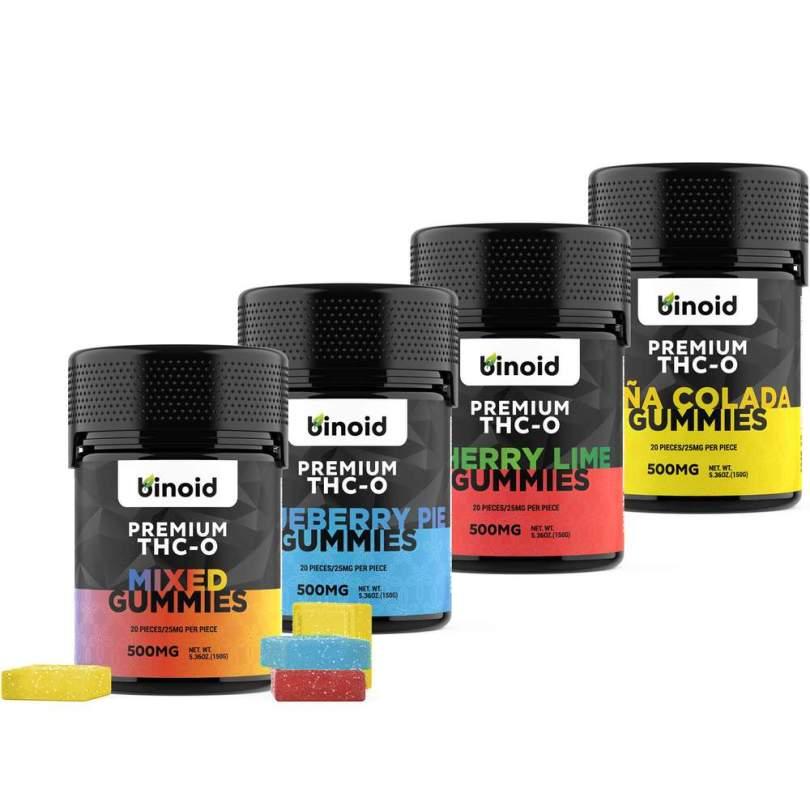 Best THC-O Gummies - Top THCO Gummies