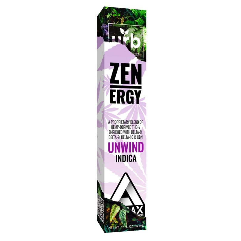 Zenergy THCV Unwind Disposable