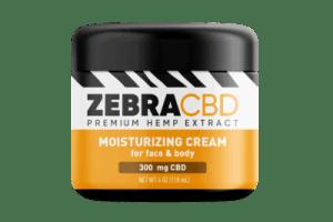 zebra cbd moisturizing cream