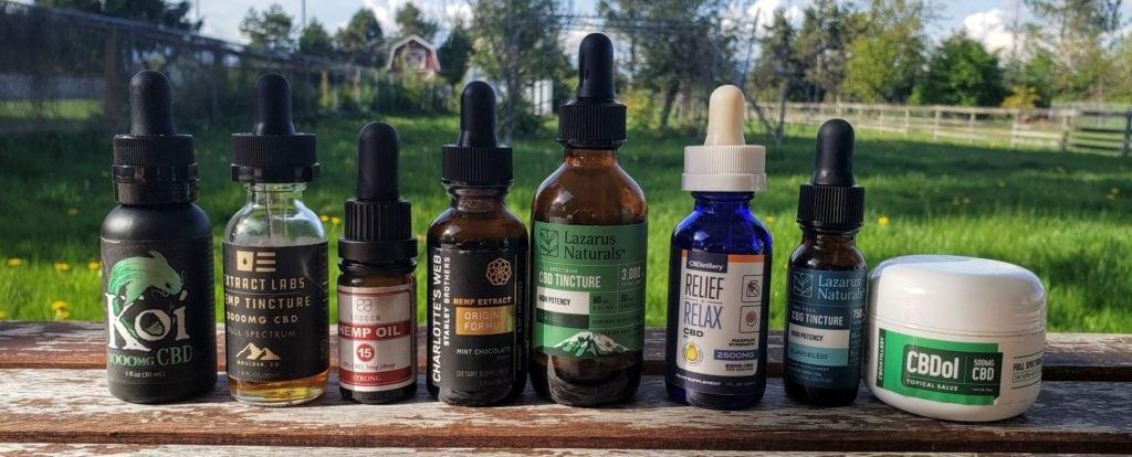 cbdthinker cbd products we've used