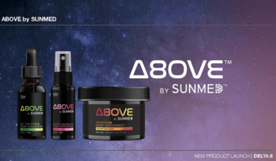 sunmed above delta 8 products