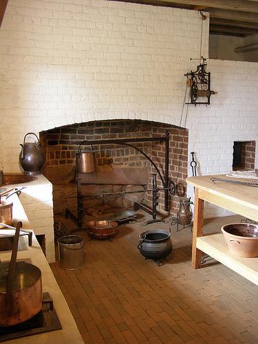 Restored Kitchen at Monticello
