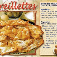 Oreillettes, A Part of Provence's Thirteen Desserts