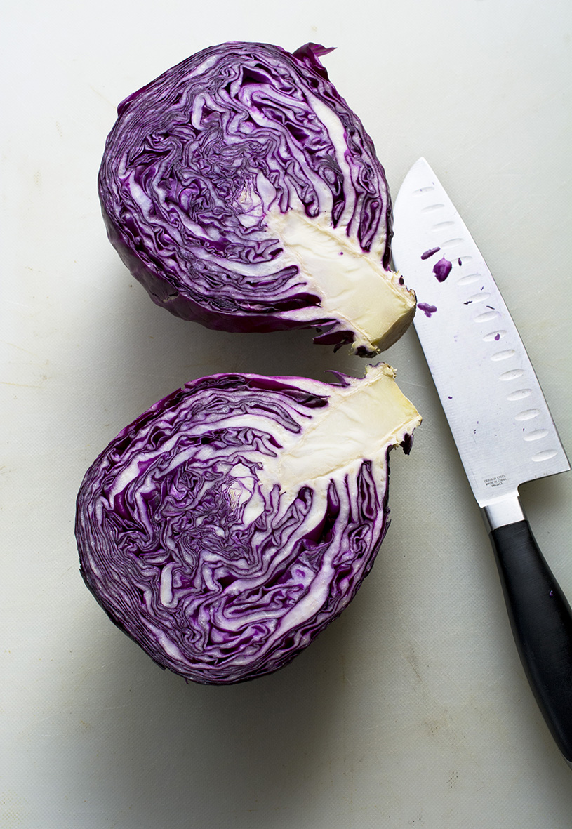 Red Cabbage on the Double (Credit: C. Bertelsen)