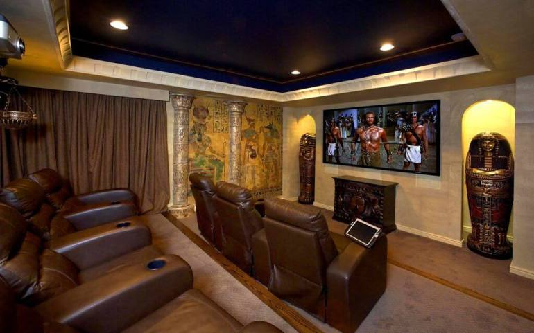 how to make a basement home theater