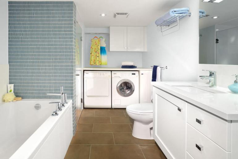 ideas for basement laundry room