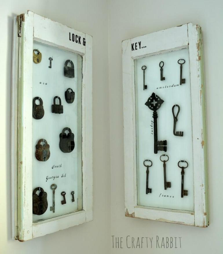diy jewelry display case