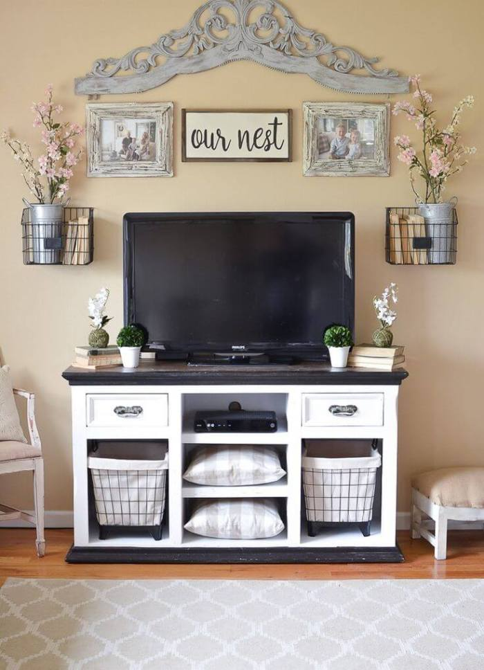 diy home entertainment center plams