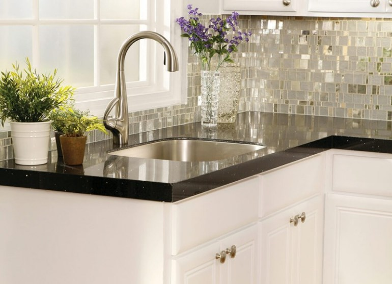 kitchen worktop and splashback ideas