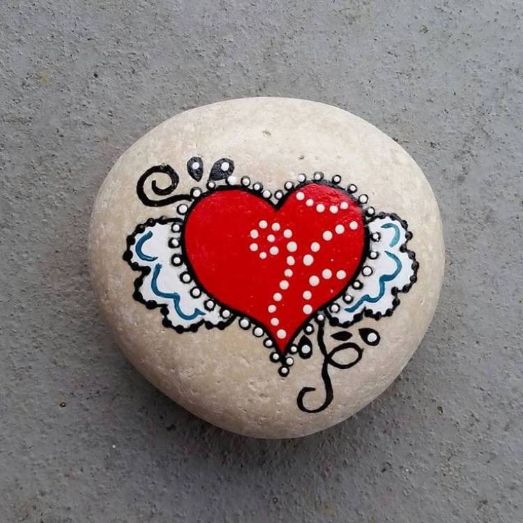 rock painting ideas for school