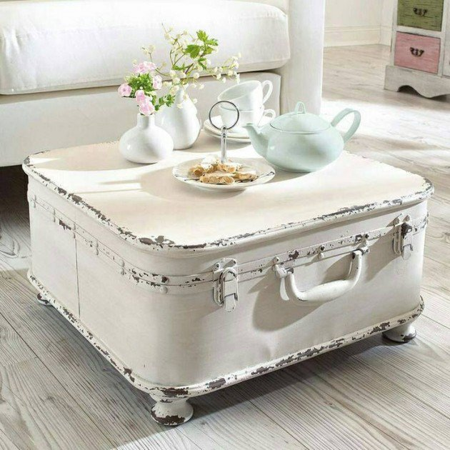 Retro Suitcase Table