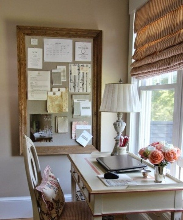 Beautiful-Framed Cork Board Ideas