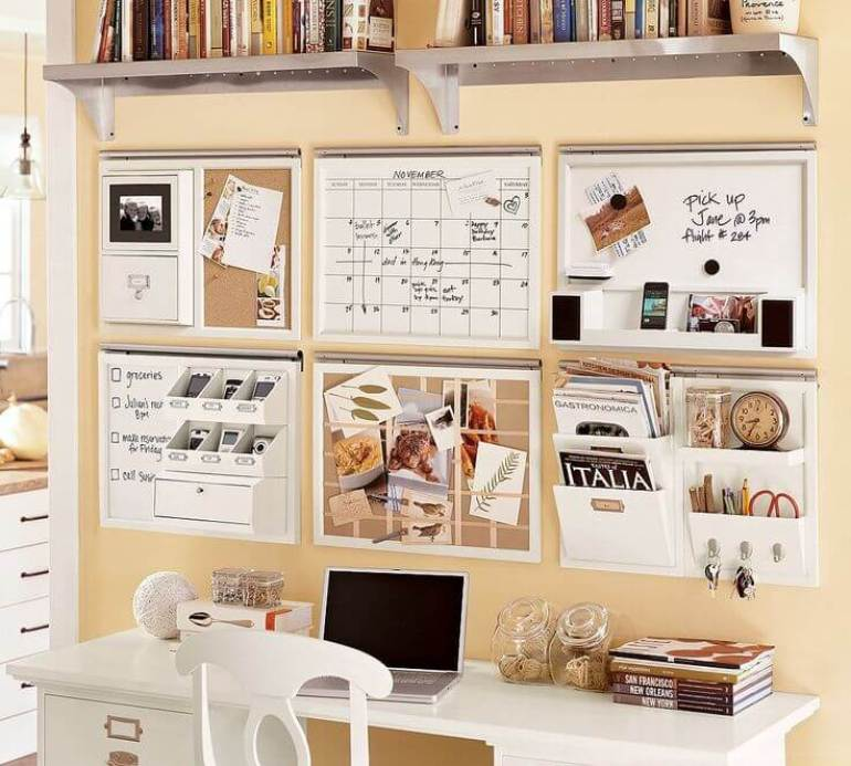 cork board ideas for home
