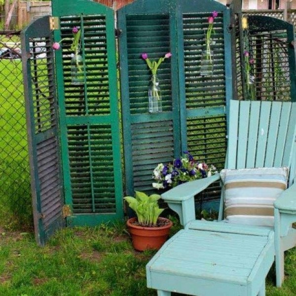 Freestanding Folded Garden Screening Ideas