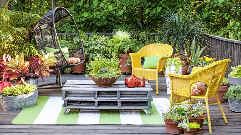 composite decking garden ideas