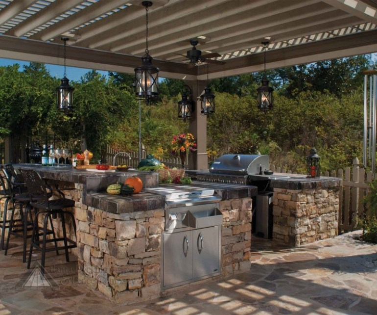 outdoor kitchen bbq designs