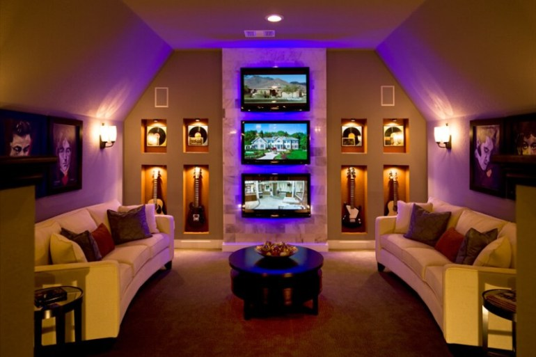 Man Cave Listening Room : Fun funky bonus room ideas for your home cbf