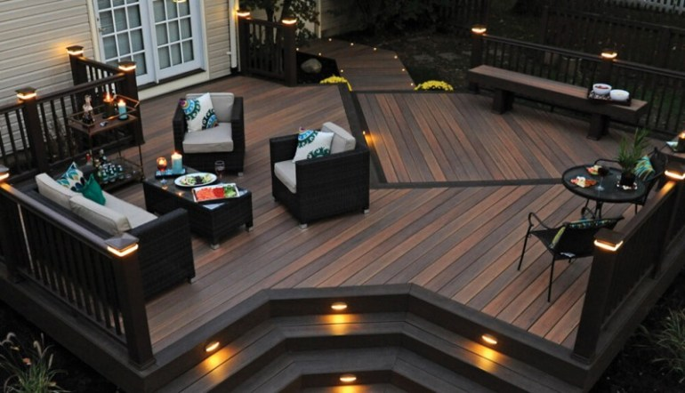 garden decking ideas b&q