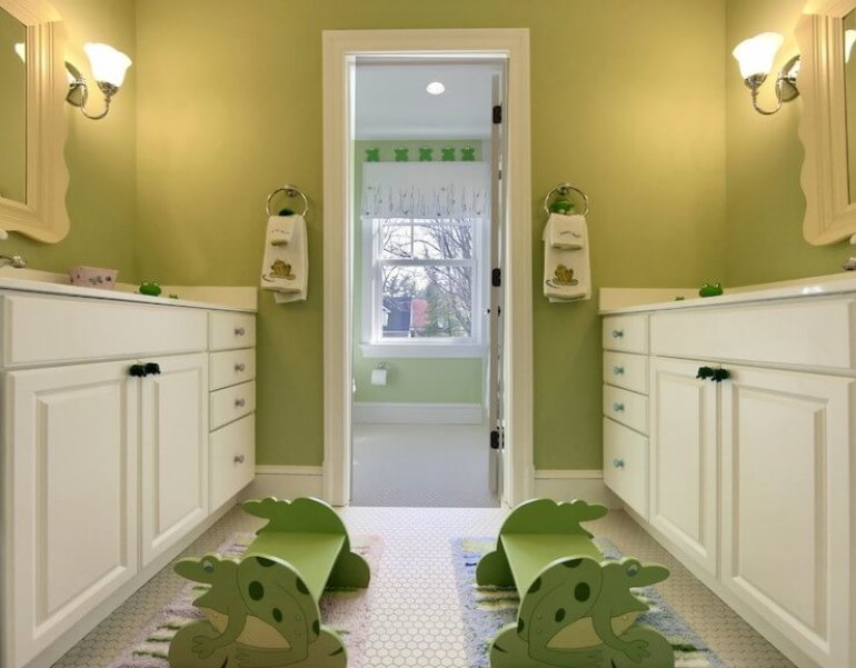 kids jack and jill bathroom