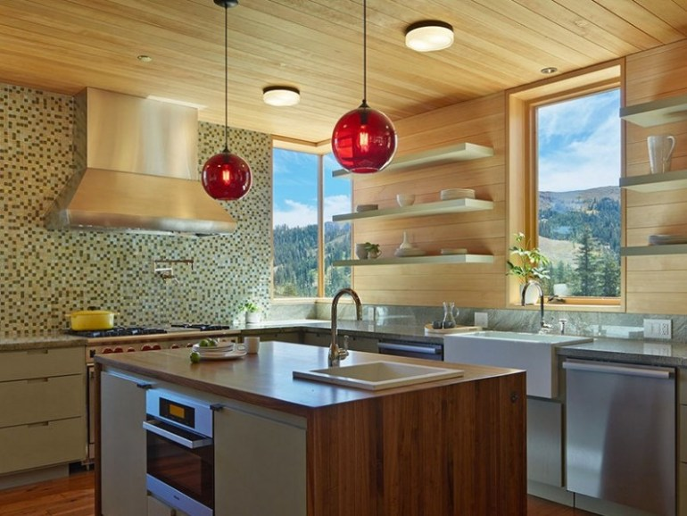 Spherical Kitchen Pendants