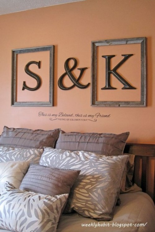 Sweetie Wooden Wall Letters