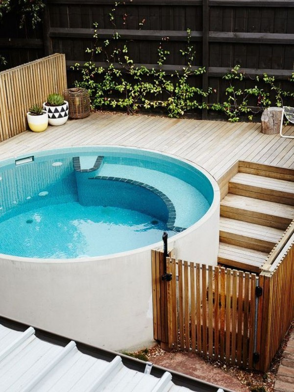 Above-Ground Backyard Pool Ideas on A Budget