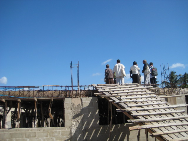 CONSTRUCTION OF NEW CHURCH