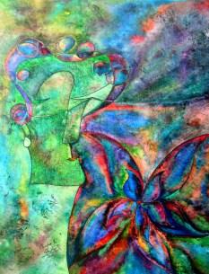 Eyes Shut, Eyes Open 1of2, 11x14 [1-2011]