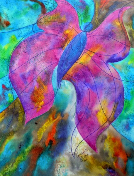 LeeAnn's Flutterby, 11x14 [3-2011], Spring Things 2011 [LeeAnn Elliott]