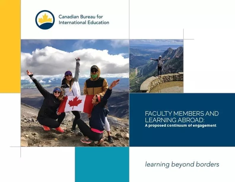 Faculty Members and Learning Abroad: A proposed continuum of engagement