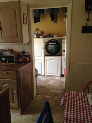 kitchen into utility before