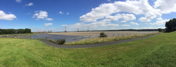 The new Mersey gateway construction